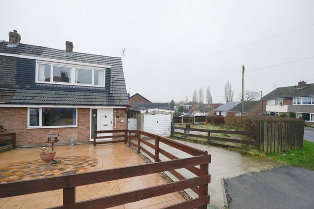 Thumbnail Semi-detached house for sale in Durham Avenue, New Whittington, Chesterfield