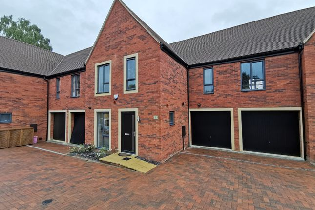 Thumbnail Town house for sale in Hall Lane, Kettering