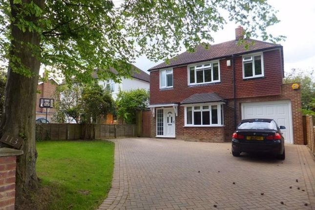 Thumbnail Detached house to rent in Bradbourne Park Road, Sevenoaks