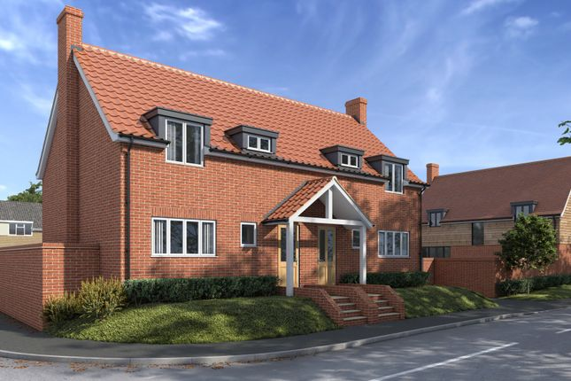 Thumbnail Semi-detached house for sale in Monks Eleigh, Ipswich, Suffolk