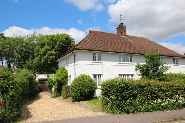 Thumbnail Semi-detached house for sale in Lytton Avenue, Letchworth Garden City