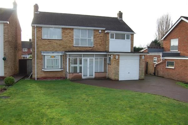 Thumbnail Detached house to rent in Martin Road, Parkhall, Walsall