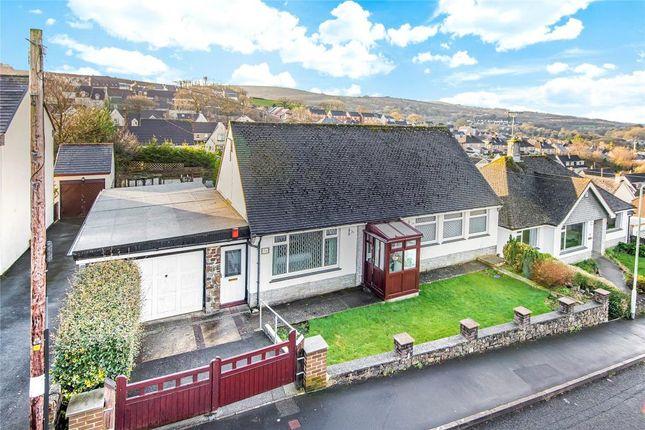 Thumbnail Detached bungalow for sale in Leaholes Avenue, Okehampton, Devon