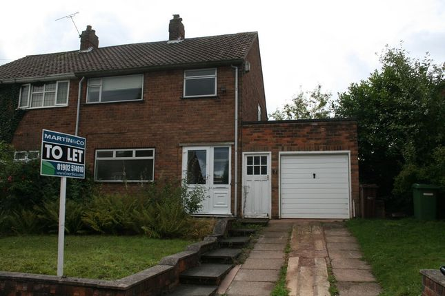 Thumbnail Semi-detached house to rent in Whitehall Road, Wolverhampton