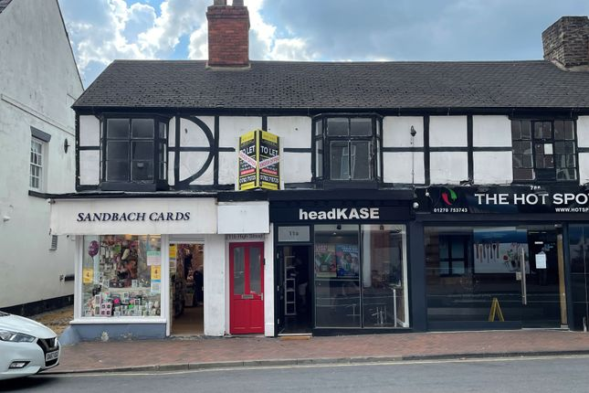 Thumbnail Office to let in High Street, Sandbach, Cheshire