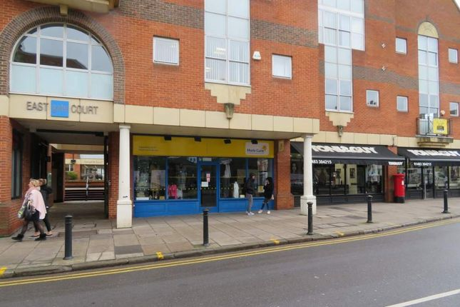 Retail premises to let in 4 Eastgate Court, High Street, Guildford