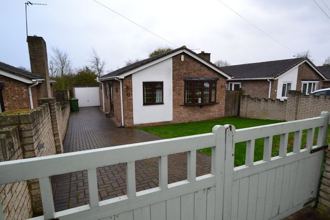 Thumbnail Detached bungalow to rent in Barnsdale Way, Upton, Upton, Pontefract