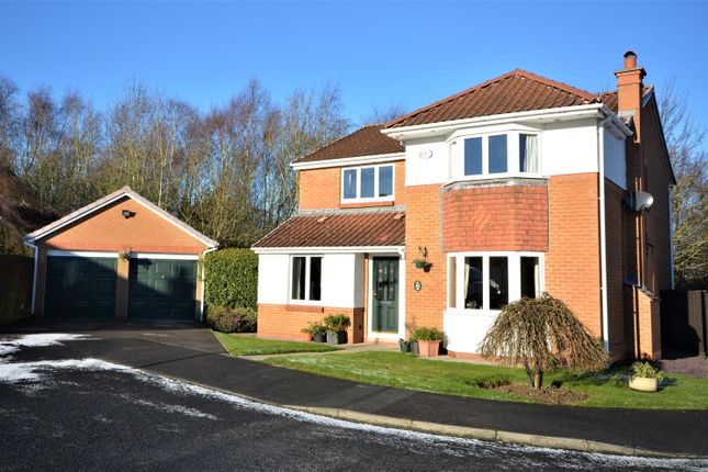 Thumbnail Detached house for sale in Acle Meadows, Newton Aycliffe