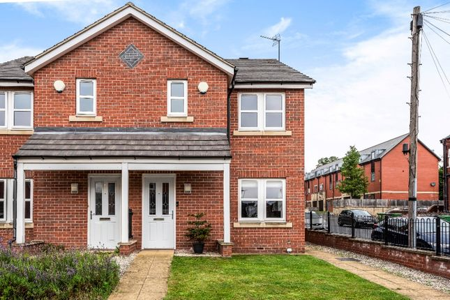 Thumbnail Semi-detached house for sale in Bentley Mews, Meanwood, Leeds
