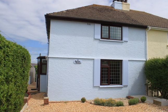 Thumbnail Semi-detached house to rent in Dawney Terrace, Crafthole, Torpoint