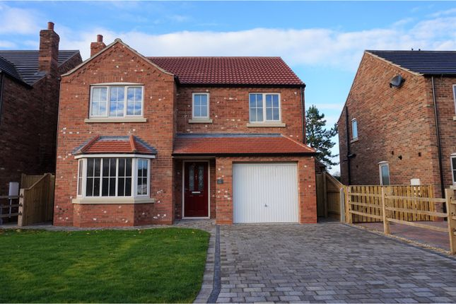 Thumbnail Detached house for sale in Dixon Close, Keelby, Grimsby