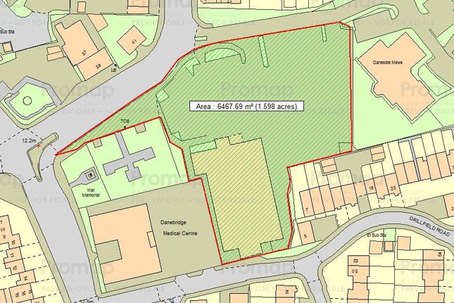 Thumbnail Land for sale in Chester Way, Northwich