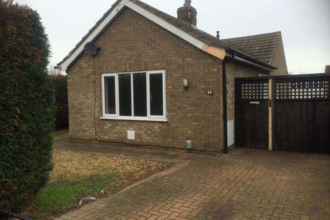 Thumbnail Bungalow to rent in Upton Close, Stanground, Peterborough
