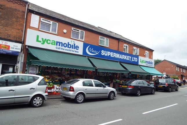 Thumbnail Retail premises for sale in 229-233 Witton Road, Aston