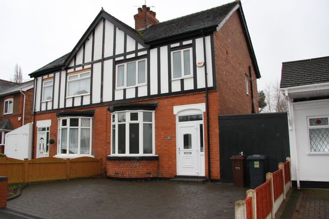 Thumbnail Semi-detached house to rent in Richmond Road, Finchfield, Wolverhampton