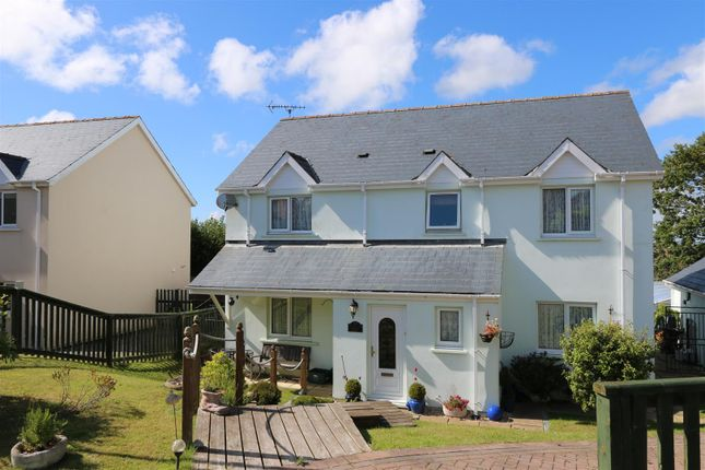 5 bed detached house for sale in Tudor Gardens, Merlins Bridge, Haverfordwest