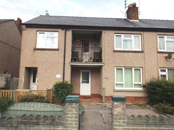 Thumbnail Flat for sale in Meredith Crescent, Rhyl, Denbighshire