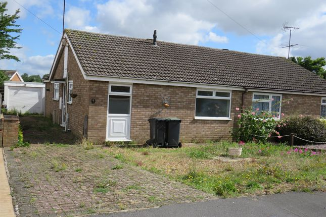 Thumbnail Semi-detached bungalow for sale in Conway Close, Rushden
