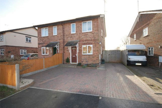 2 bed semi-detached house for sale in Levings Close, Aylesbury, Buckinghamshire