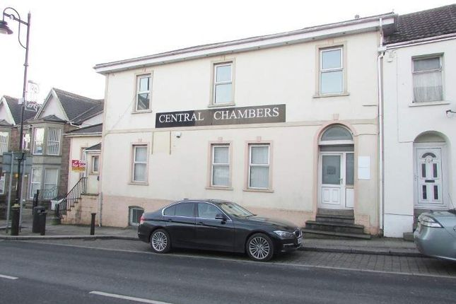 Thumbnail Commercial property for sale in Central Chambers, Tredegar