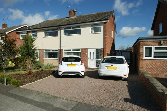 Thumbnail Semi-detached house for sale in Hatfield Close, Rainworth