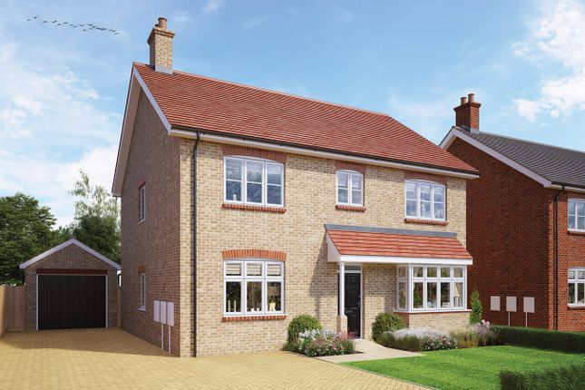 Thumbnail Detached house for sale in The Sandy, Whitworth Way, Wilstead, Bedford