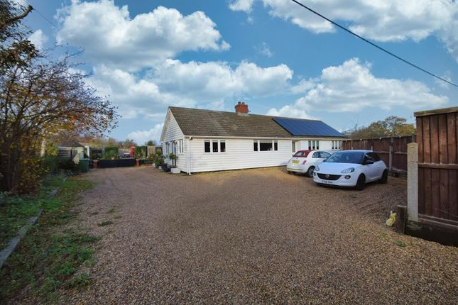 4 bed detached bungalow for sale in Southminster Road, Asheldham, Southminster, Essex CM0