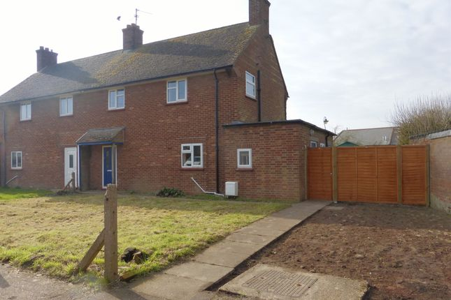 Thumbnail Semi-detached house for sale in Manor Estate, Doddington, March