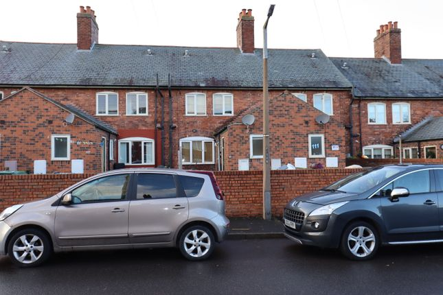 3 bed terraced house to rent in Model Village, Creswell, Worksop S80