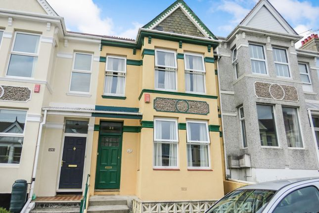 Thumbnail Terraced house for sale in Endsleigh Park Road, Plymouth