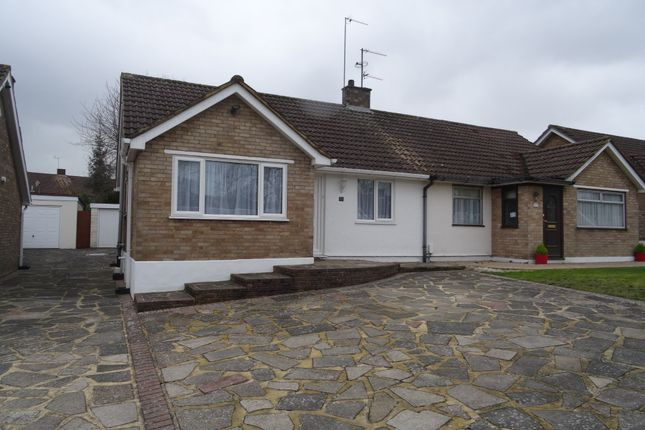 Thumbnail Semi-detached bungalow to rent in Hilborough Way, Farnborough
