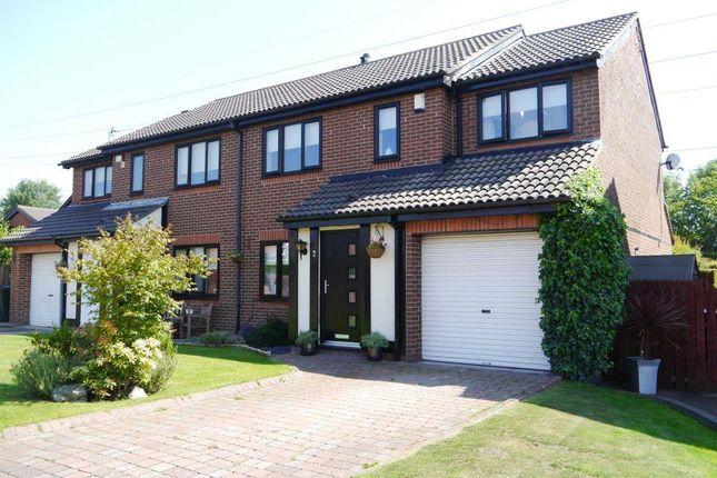 4 bed semi-detached house for sale in Monkridge, Abbey Farm, North Walbottle, Newcastle Upon Tyne
