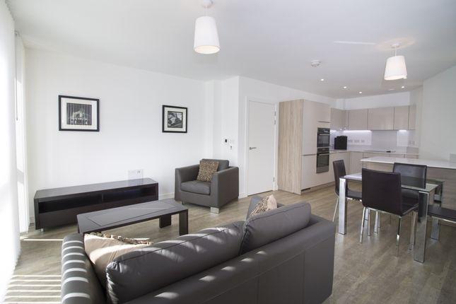 Living Room of Tiggap House, Enderby Wharf, Greenwich SE10