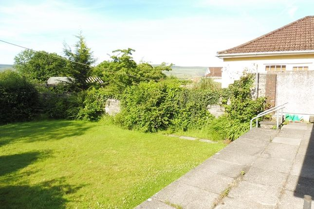 Thumbnail Detached bungalow for sale in Merthyr Road, Llwydcoed, Aberdare