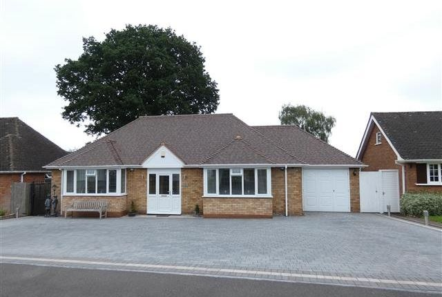 Thumbnail Detached bungalow for sale in Wavenham Close, Four Oaks