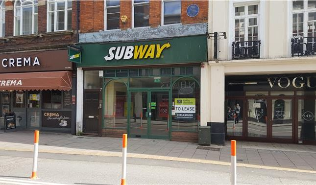 Thumbnail Retail premises to let in 57 High Street, Bedford