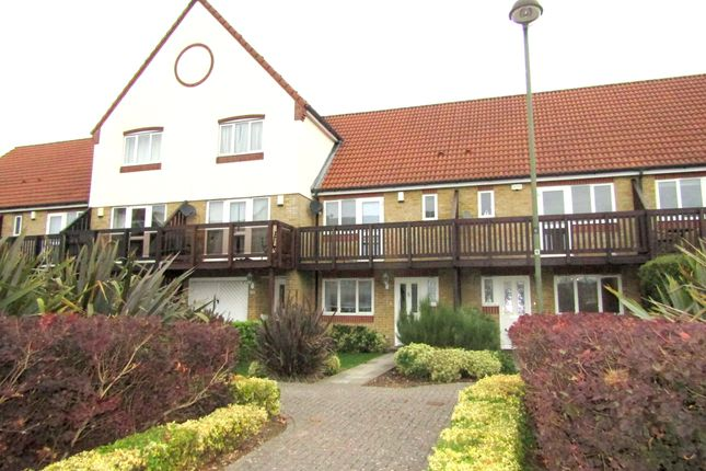 Thumbnail Terraced house to rent in Tintagel Way, Port Solent, Portsmouth, Hampshire