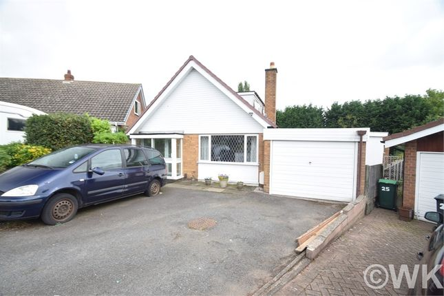 Thumbnail Detached bungalow for sale in Bird End, West Bromwich, West Midlands