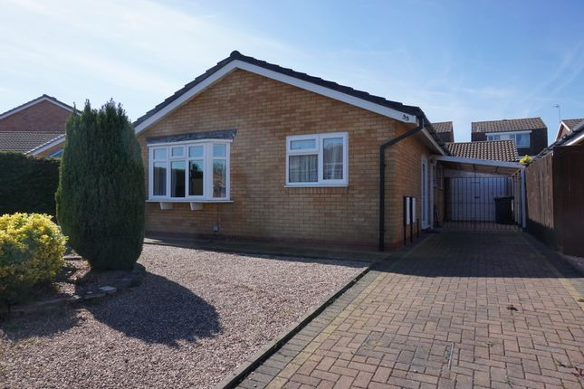 Thumbnail Detached bungalow for sale in Henley Close, Perrycrofts, Tamworth