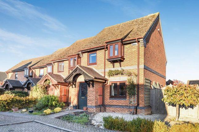 Thumbnail End terrace house for sale in Anson Close, Marcham, Abingdon
