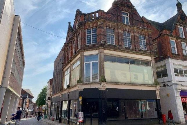 Thumbnail Retail premises for sale in 9A-11 High Street, High Street, Chesterfield