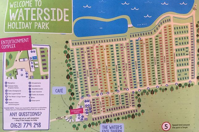 Map Of The Holiday Park