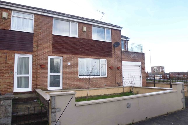 Thumbnail End terrace house to rent in Model Avenue, Leeds