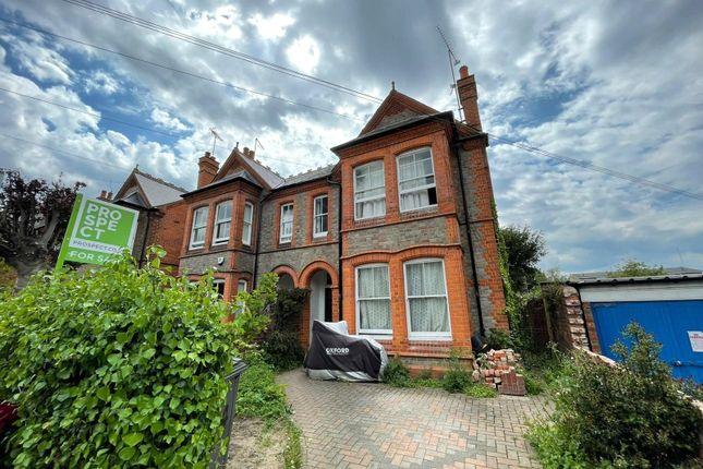 Thumbnail Semi-detached house for sale in Bulmershe Road, Reading, Berkshire