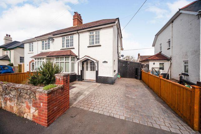Thumbnail Semi-detached house for sale in Furzeland Road, Porlock, Minehead
