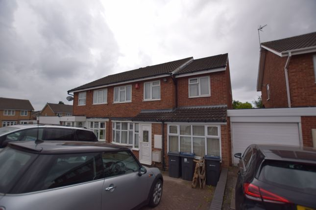 Thumbnail Semi-detached house for sale in Cheswood Drive, Minworth, Sutton Coldfield, West Midlands