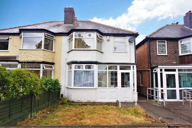 Thumbnail Semi-detached house for sale in Woolmore Road, Birmingham