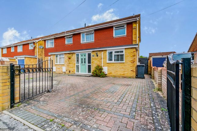 Thumbnail Semi-detached house for sale in Exmouth Road, Gosport