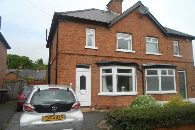 Thumbnail Property to rent in Geneva Gardens, Stranmills, Belfast
