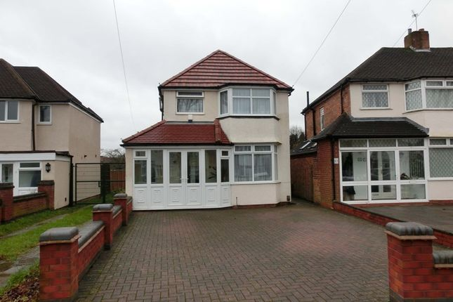 Thumbnail Detached house for sale in Stroud Road, Shirley, Solihull